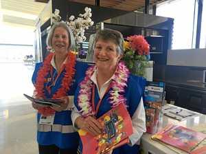 Meet the Toowoomba volunteers greeting travellers
