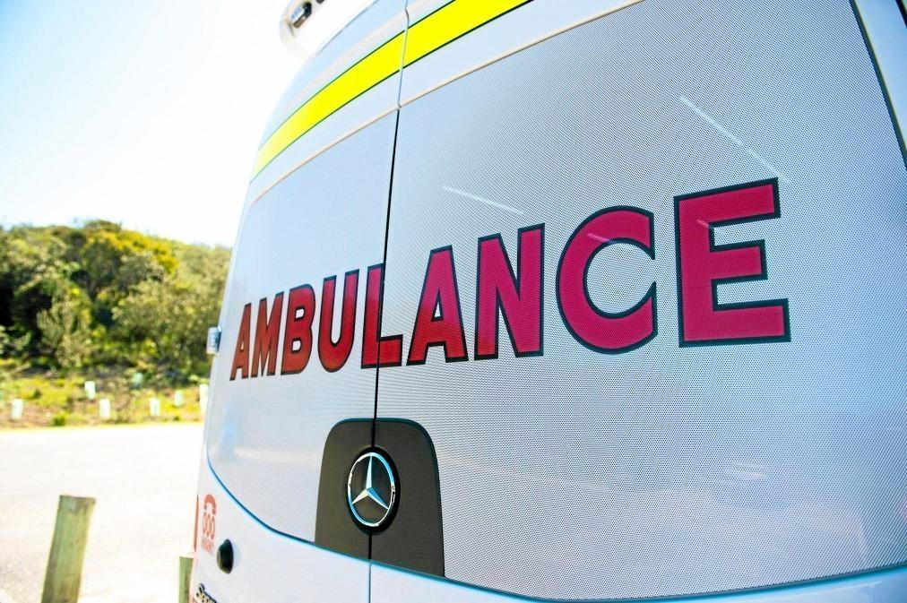 A cyclist has been transported to hospital after being hit by a car in Noosaville this morning.