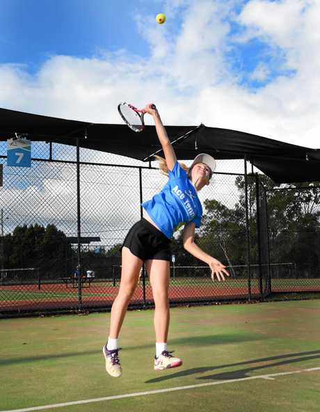 BIG SHOT: Hervey Bay junior Vada Thaggard will compete at the Queensland Junior Development Series state final.