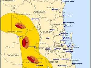 Thunderstorm warnings issued for the South Burnett