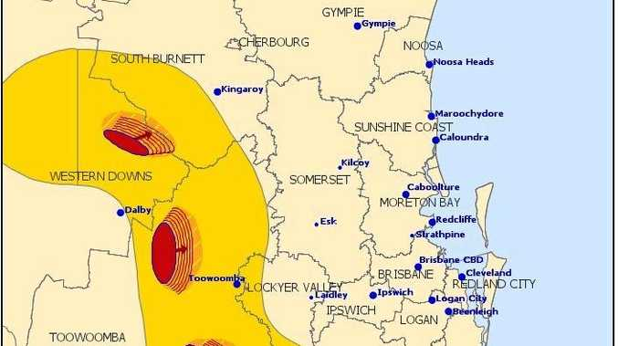 Thunderstorm warnings issued for the South Burnett