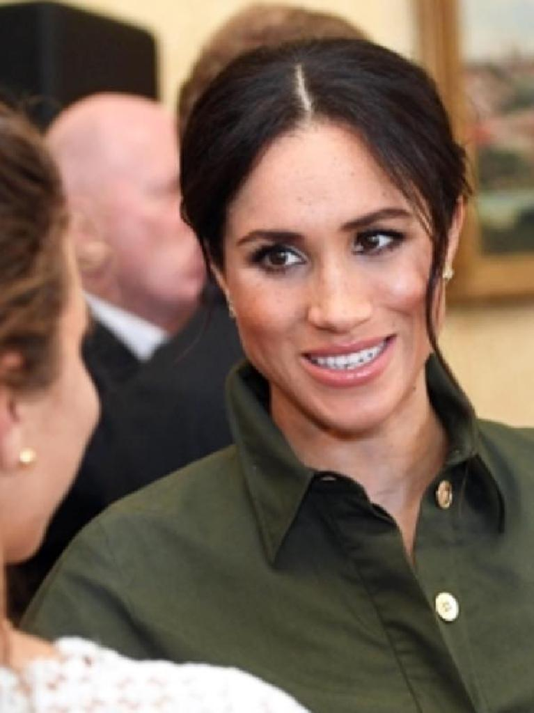 Meghan Markle: 'Just acting', apparently.