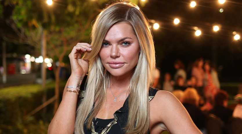 Sophie Monk has upgraded security on her home. Picture: Peter Wallis