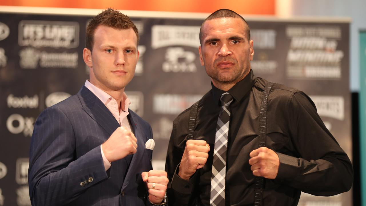 Jeff Horn says Anthony Mundine should share the promotional load. Picture: Annette Dew