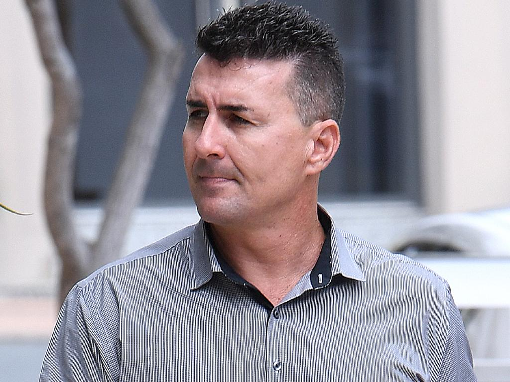 Former Dreamworld attractions and entertainment manager Andrew Fyfe arrives to the Magistrates Court at Southport on the Gold Coast. Picture: AAP Image/Dave Hunt