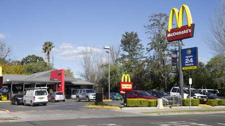 It's not known which McDonald's location she will be at. But she will likely be flipping burgers, working in the drive-through and behind the counter. Picture: AAP Image/Melvyn Knipe