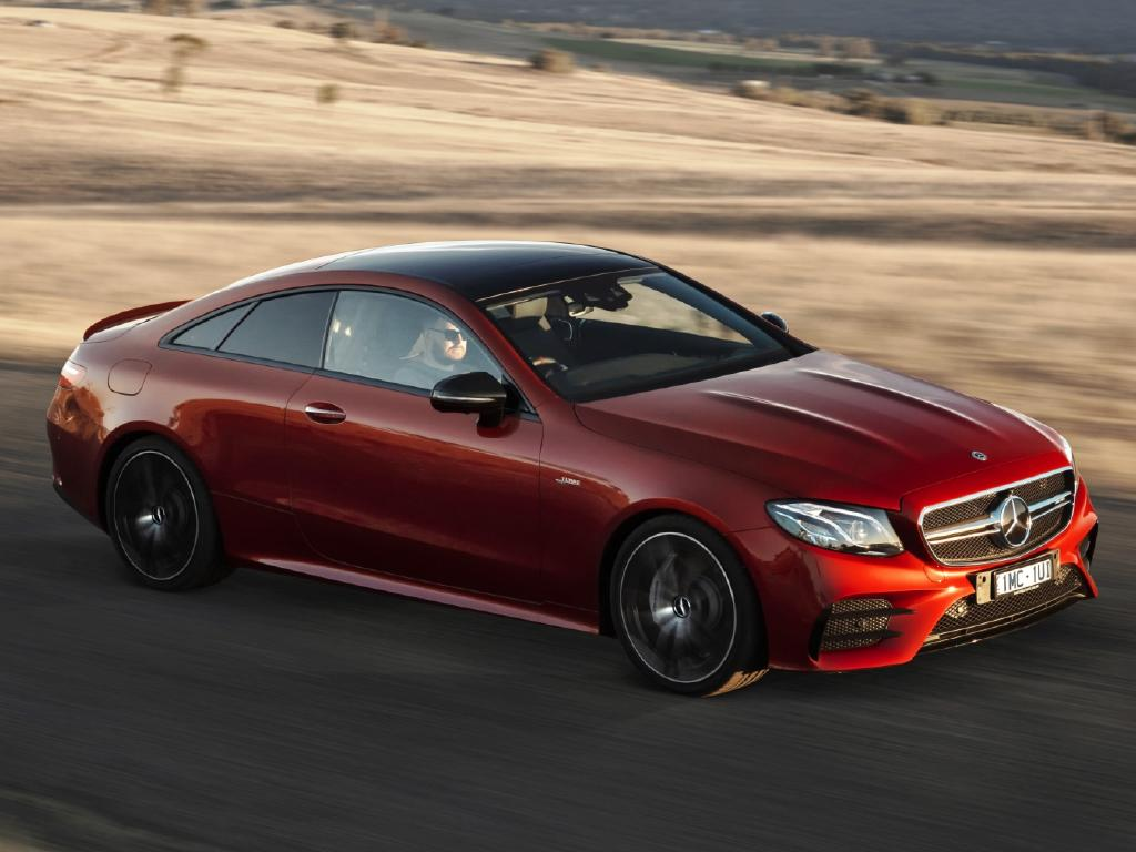 2018 Mercedes-Benz AMG E53 coupe: Boosted by 48V electrics