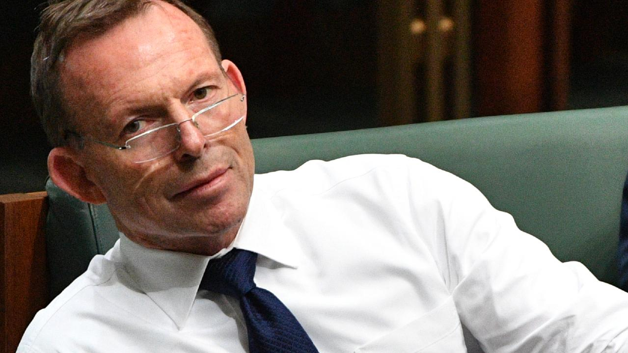 Former prime minister Tony Abbott. Young Mr Turnbull is not a fan. Pic: AAP