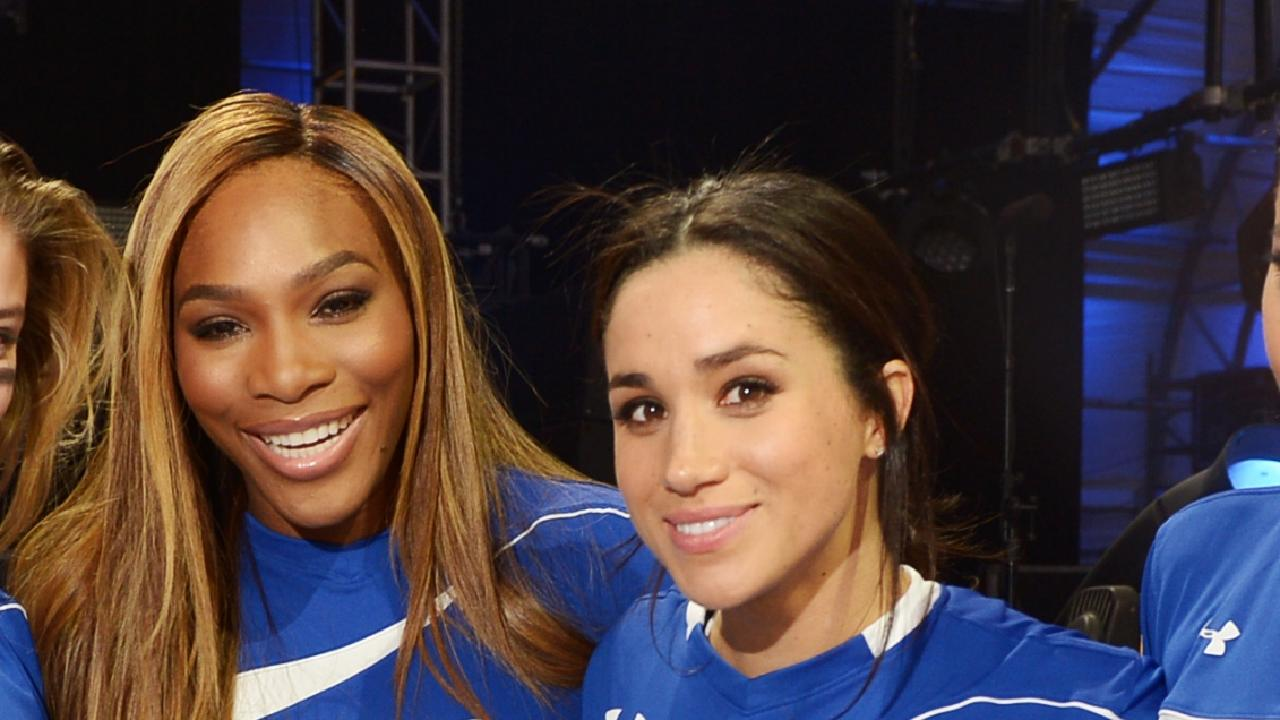 Serena Williams' friendship with Meghan Markle has got her into hot water.