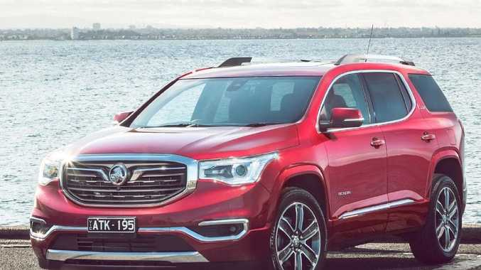 Holden launches Territory replacement - the flagship Acadia
