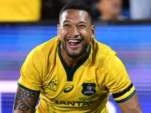 Waratahs to wing it with Folau at fullback