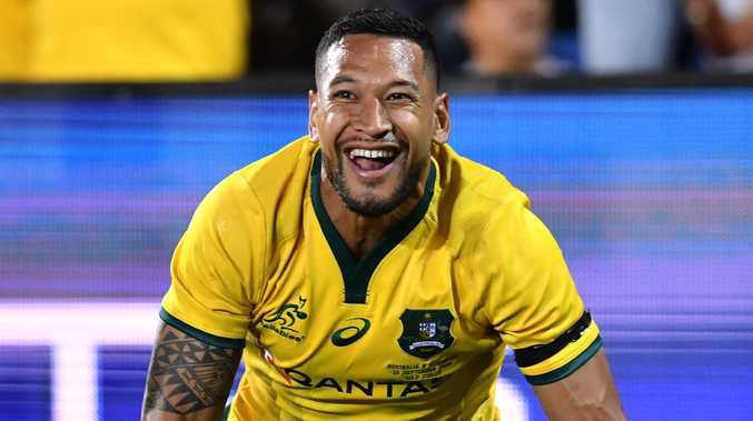 Israel Folau has agreed to a four-year deal. Picture: AAP