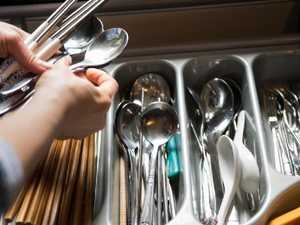Cutlery drawer debate goes viral