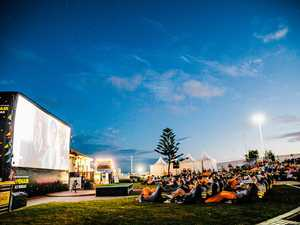 Movie under the stars helps beat breast cancer