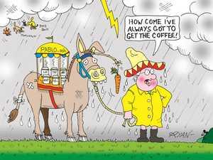 Welcome rain hasn't left everyone on cloud nine