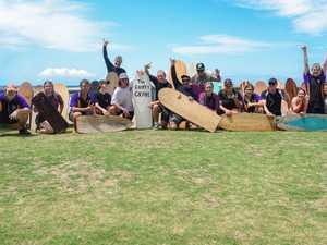 The North Bundaberg State High School Aquatics Class