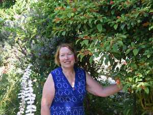 Marion Collins won the Best Senior Garden award in