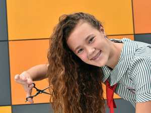 Grade eight student Gemma Thomas of Nambour Christian
