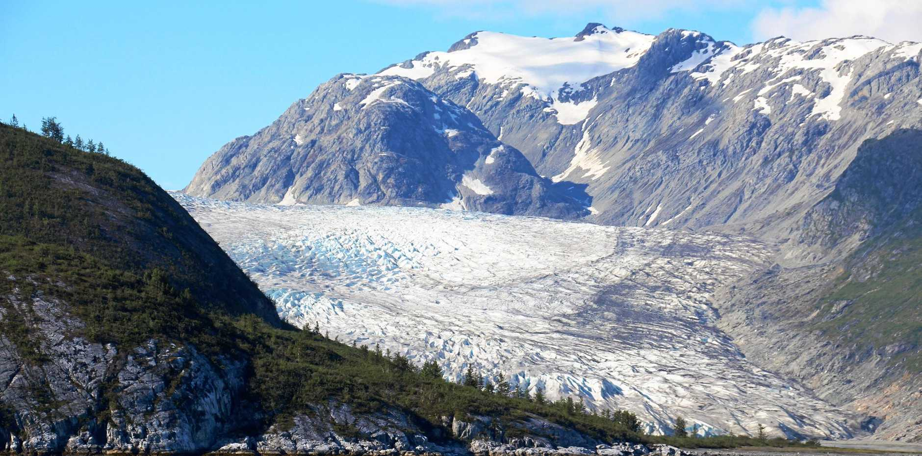 The majestic scenery of Glacier Bay.