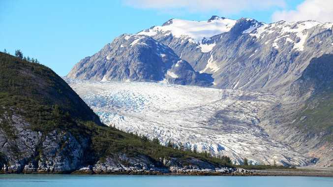 The majestic scenery of Glacier Bay.