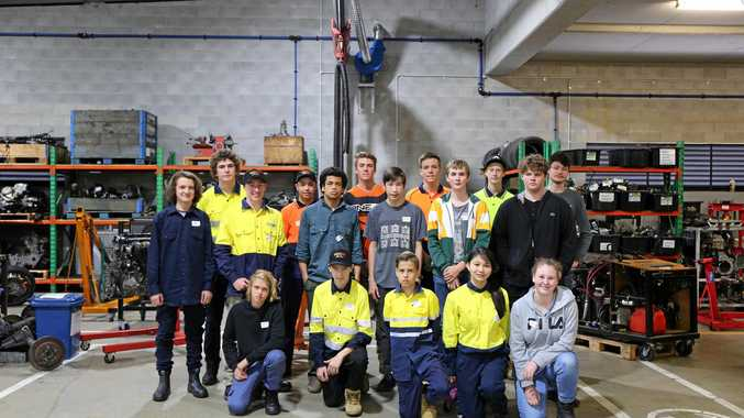 TOP MARKS: High school students are being encouraged into careers in the industry.