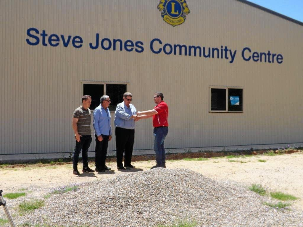 NEARLY THERE: Withcott Lions' Steve Jones Community Centre is a step closer to opening its doors.
