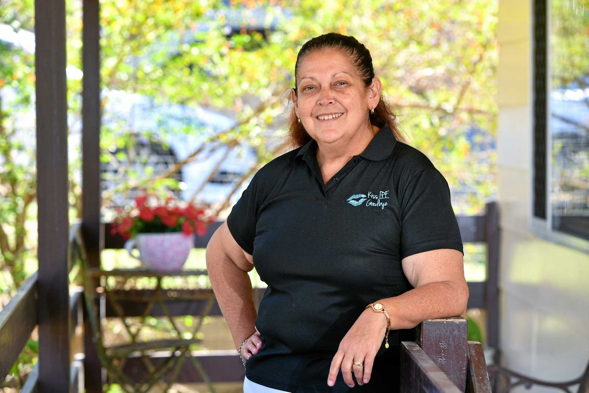 GRATEFUL: Tracey Slatter is a lung recipient who is soon going to visit Sydney to meet her donor family.