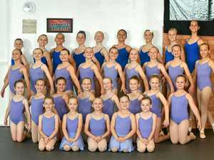 Ballerinas pointe way to success