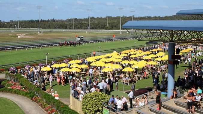 AT THE RACES: Corbould Park on Melbourne Cup Day.