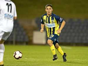 Determined to keep pressing claims for A-League debut