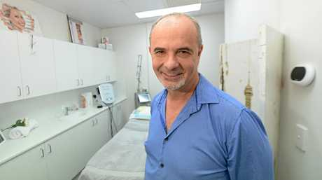 Dr Stephen Murray  at the Capricorn Skin and laser centre.   Photo: Chris Ison / The Morning Bulletin