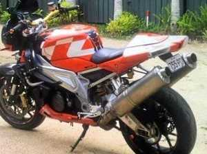 Can you help solve motorbike theft crime?