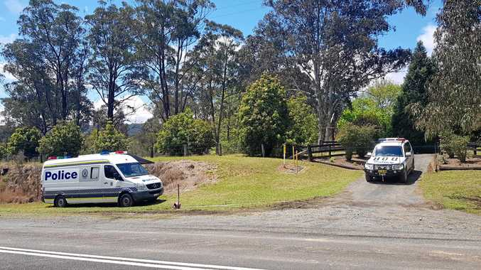 POLICE have seized ammunition but are still searching for the weapon that inflicted the gunshot wound which killed a Coffs Coast man yesterday.