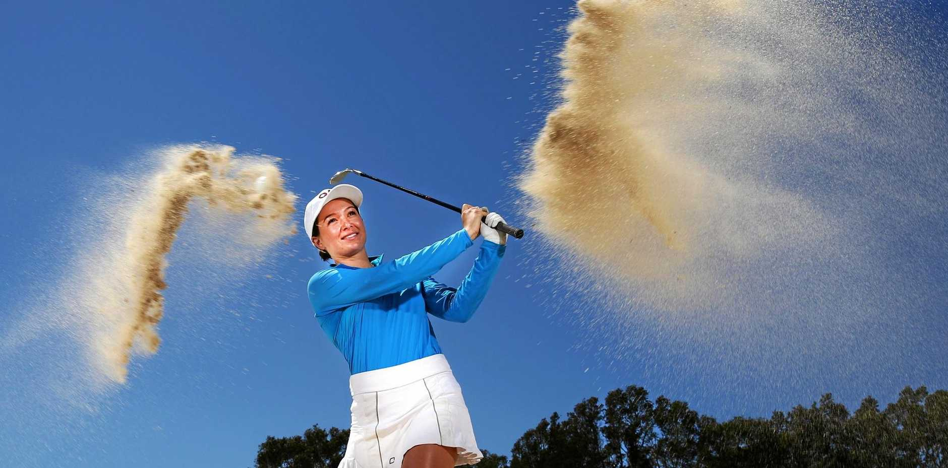 PRO IN WAITING: Becky Kay, a member at Coolangatta and Tweed Heads Golf Club, is Australia's number one ranked female amateur.