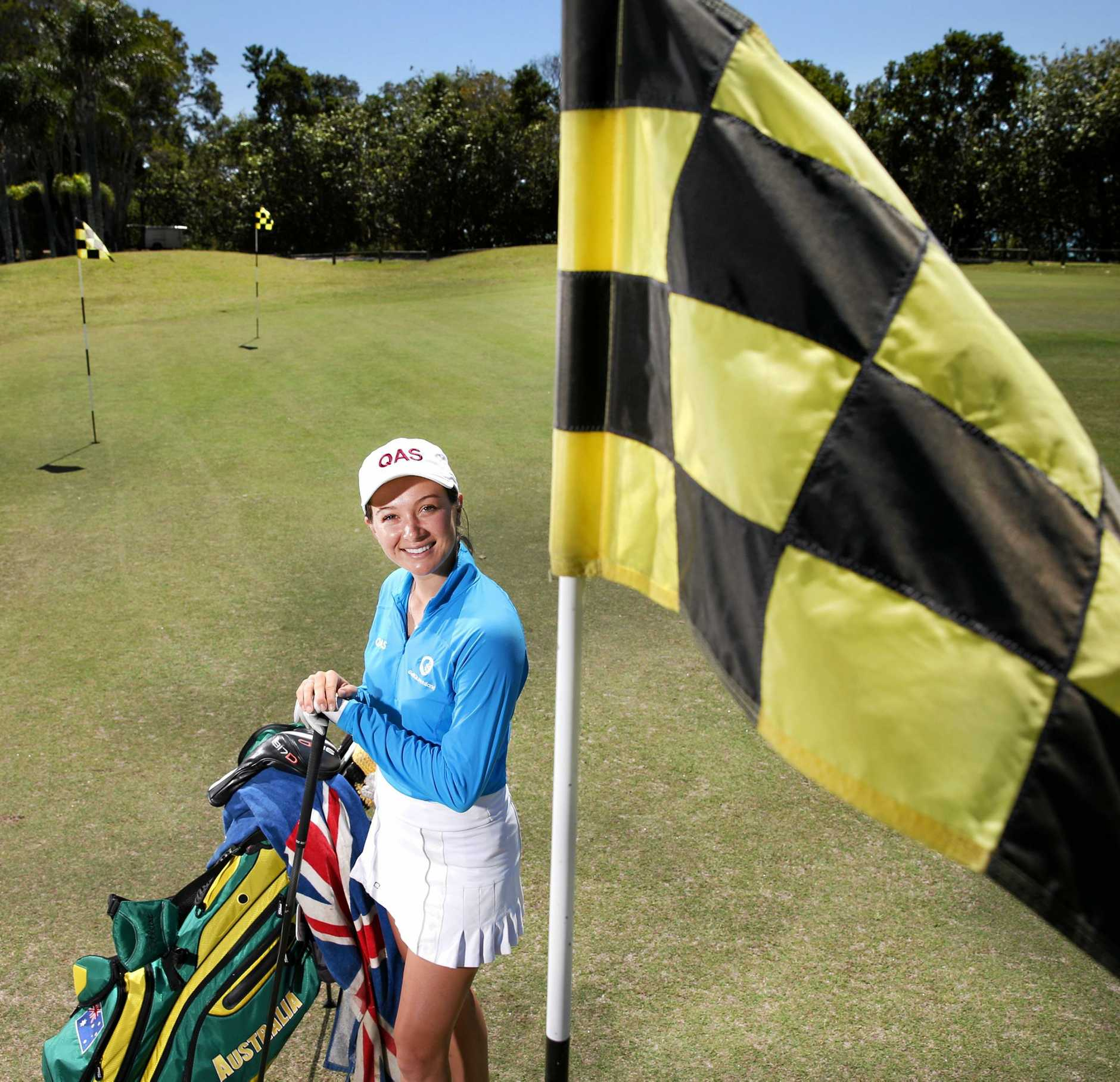Becky Kay is the 89th ranked amateur in the world.