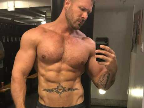 Adult film star Austin Wolf. Picture: Austin Wolf