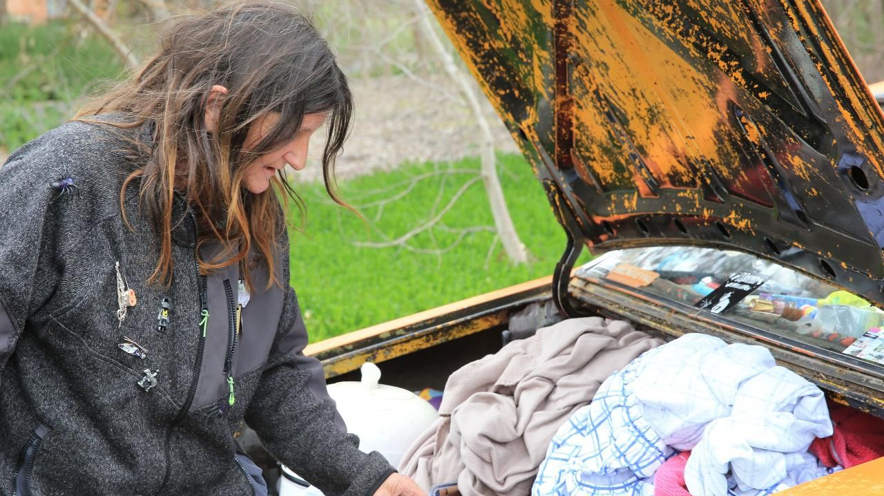 Some people have lived in the cars for more than a decade. Picture: Peter Ristevski