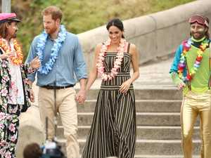 Harry and Meghan in bizarre Bondi ritual