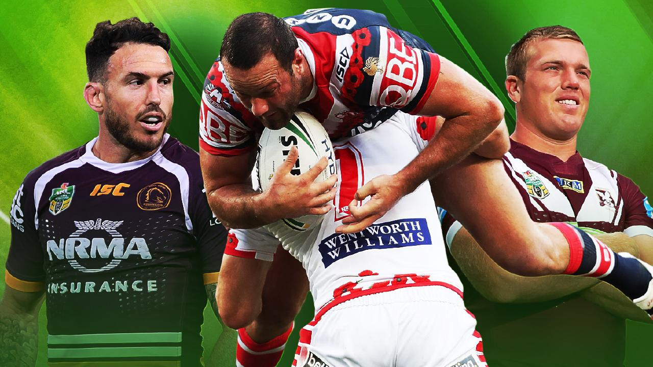Darius Boyd, Ben Hunt and Jake Trbojevic.