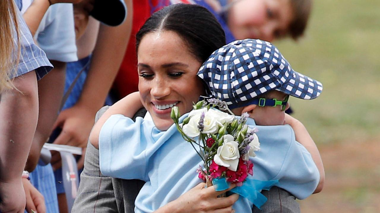 Dubbo locals, who have been battling drought for more than a decade, were touched by the royal visit. Picture: Getty Images