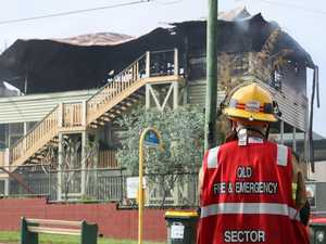 Charges laid over school fire