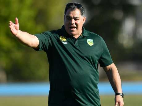 Meninga says the Australians are unconcerned. Picture: AAP