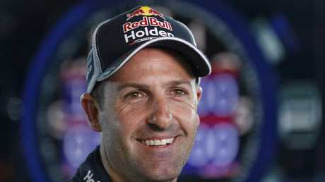 Jamie Whincup is third in the championship standings.