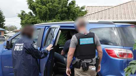 AFP arrests as part of the alleged child-hiding network.