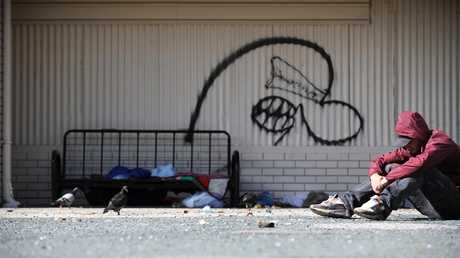 The buffer between getting by and being homeless is shrinking according to experts.