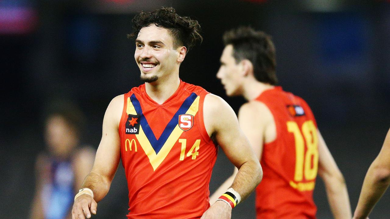 Izak Rankine is among a bevy of young talent on offer at this year's draft. Picture: Getty Images