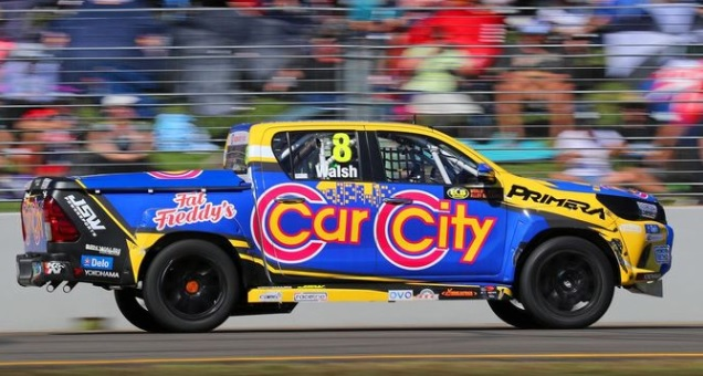 Noosa's Ben Walsh is keen for a solid outing in the Superutes during the Gold Coast 600 weekend. Picture:  Darin Mandy