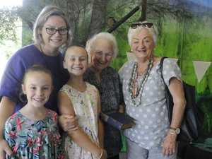 Four generations Rita Short nee Whalen, Ann-Maree