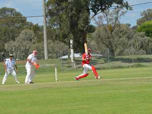 Taylor Heness batting for Kingaroy.