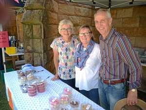 Stalls fill church grounds for spring fair